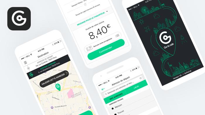 Gotocab app mobile
